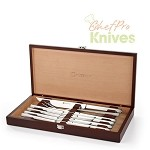 Wusthof Stainless Steak & Carving Set , 10 Pc.