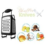 Microplane Specialty 4-Sided Box Grater