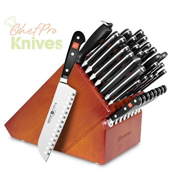 Wusthof Classic 35-Slot Knife Block Set, 36 Pc., Cherry