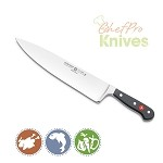Wusthof Classic Wide Cook's Knife, 10